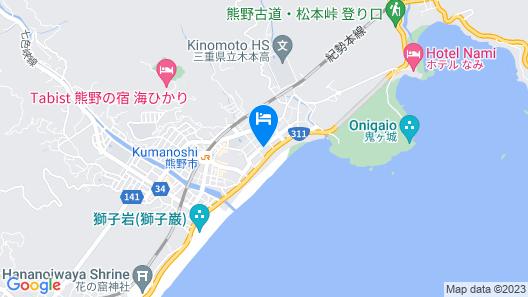 Guest House Wagaranchi Kai Map