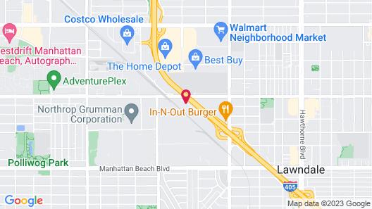 Hilton Garden Inn Los Angeles/Redondo Beach Map
