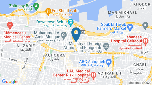 Saifi Suites Map