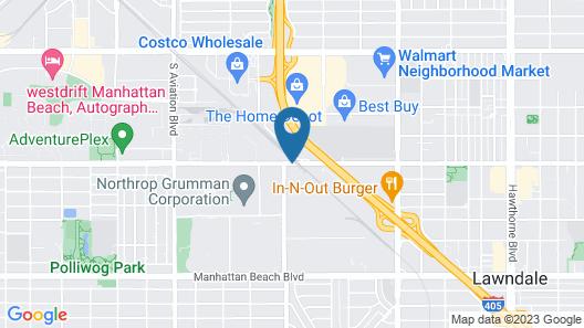 Residence Inn by Marriott Los Angeles Redondo Beach Map
