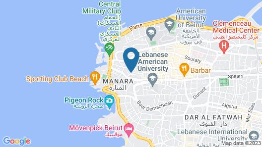 Palm Ville Suites Map