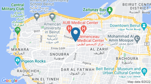 Q- Hotel Map