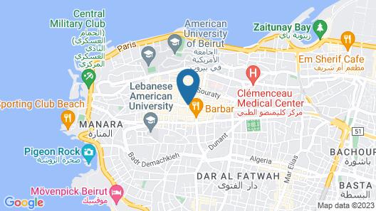 Studio 44 Map