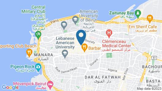 Minto Suites Map