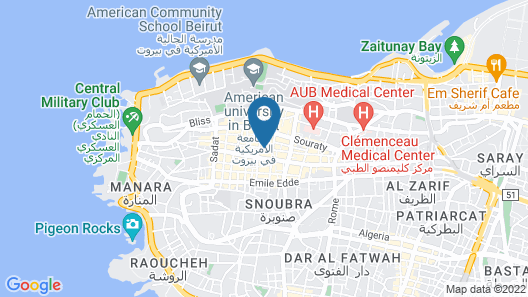 Embassy Map