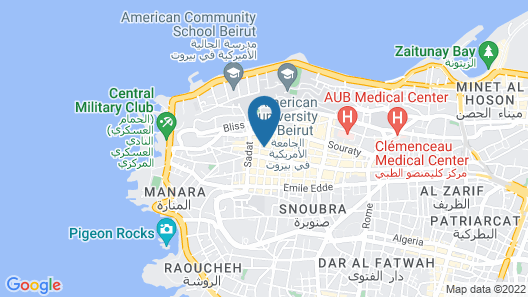 Gems Hotel Map