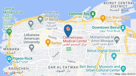 Beyt Amir Map