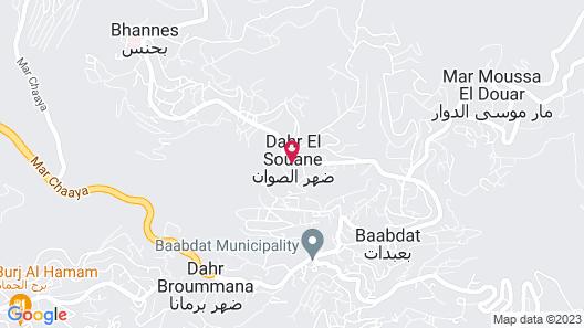 Villa Sawan Map