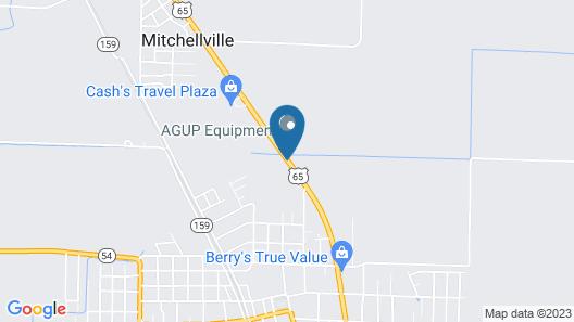 Dumas Inn Map