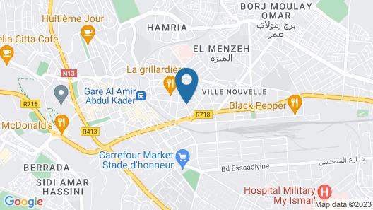 Hotel Plaisance Map