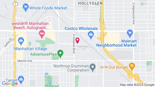 SpringHill Suites Los Angeles LAX/Manhattan Beach Map