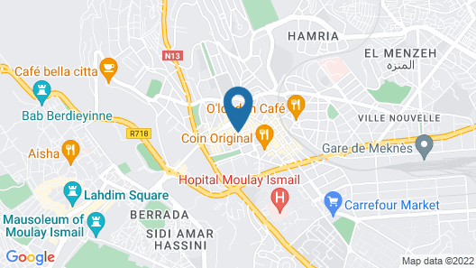 Hotel Rif Map