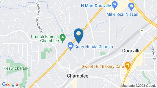 HomeTowne Studios by Red Roof Atlanta - Chamblee Map