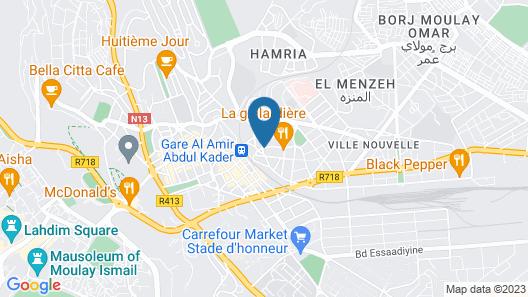 Hotel Tafilalet & Spa Map