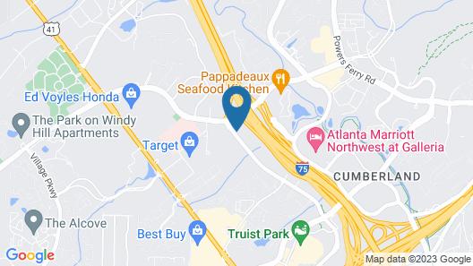 Days Inn by Wyndham Atlanta Marietta Ballpark Map