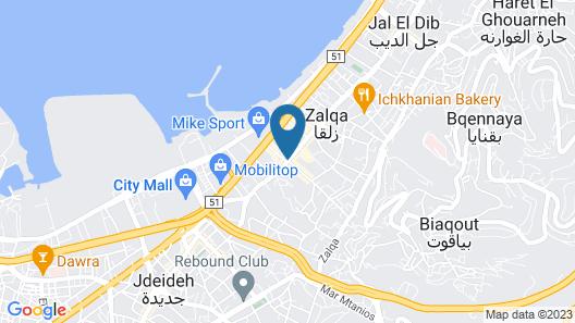 PROMENADE HOTEL Map