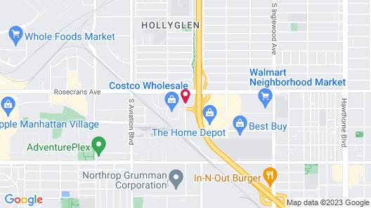 Ayres Hotel Manhattan Beach LAX Map