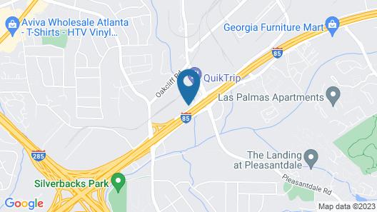 Lodge Atlanta Map