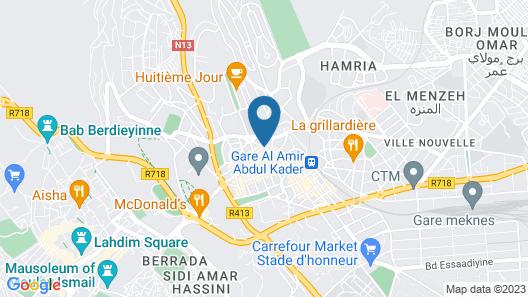 Hotel Malta Map