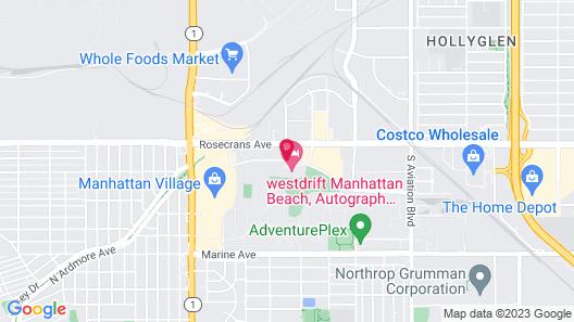 Westdrift Manhattan Beach, Autograph Collection by Marriott Map