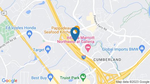 Extended Stay America Suites Atlanta Marietta Interstate N Map