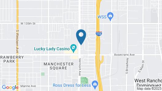 Sea Rock Inn - Los Angeles Map