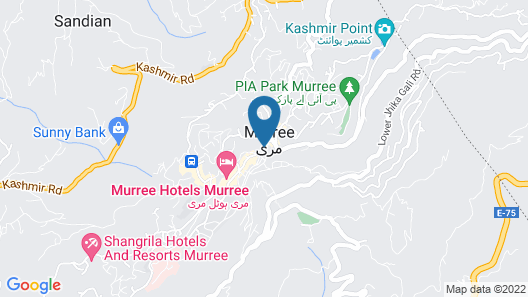 Nabeel Residency bhurban road Murree Map
