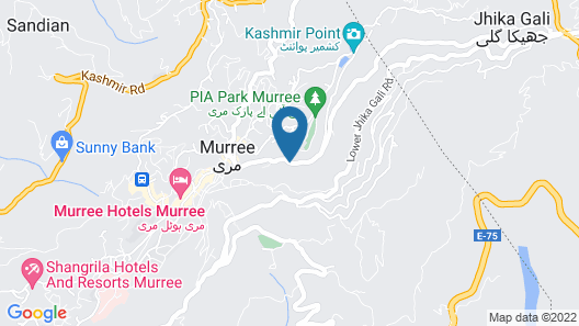 Hotel One Mall Road Murree Map