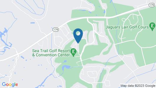 Ground floor condo near beach & golf! Map