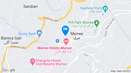 Lockwood Hotel Murree Map