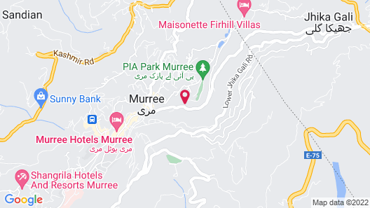 Stunning 3-bed Apartment in Murree Map