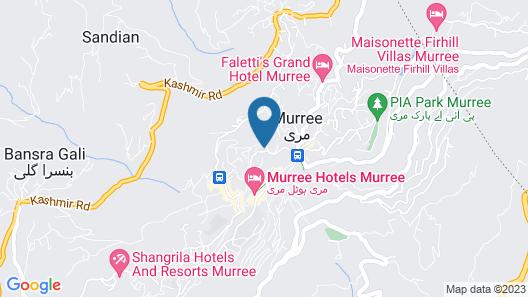 Hotel One Bhurban Map