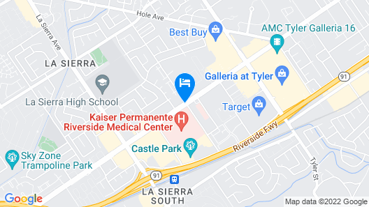 Riverside Inn & Suites Map