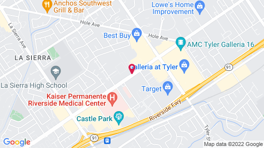 Days Inn by Wyndham Riverside Tyler Mall Map