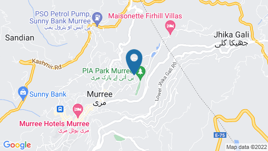 Hotel Cosy Knock Map