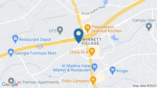 Horizon Inn & Suites Map
