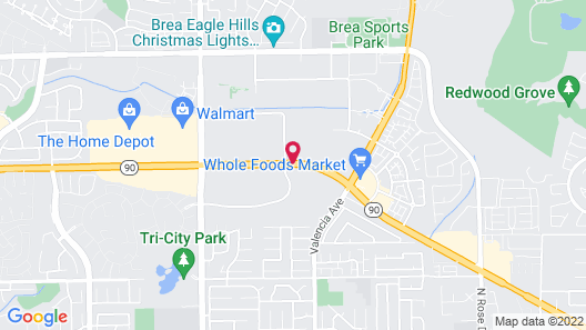 Extended Stay America Orange County - Brea Map