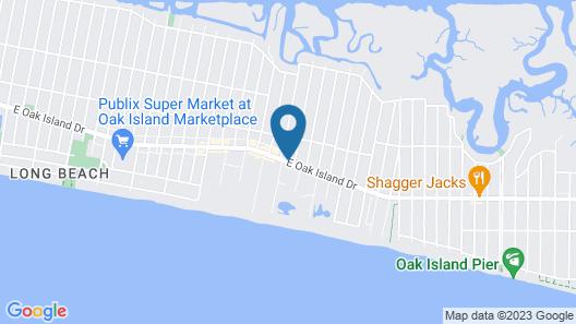 Captain's Cove Motel Map