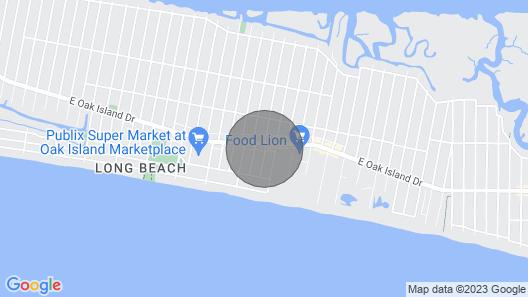 1 Br/1 BA Efficiency-walk to Stores, Restaurants, & Beach-large Pool-sleeps 4 Map