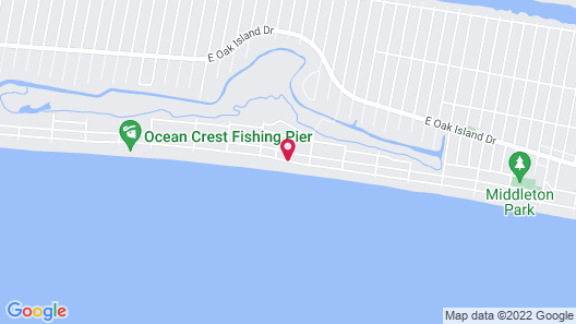 2609 E Beach Drive - 6 Br Home Map