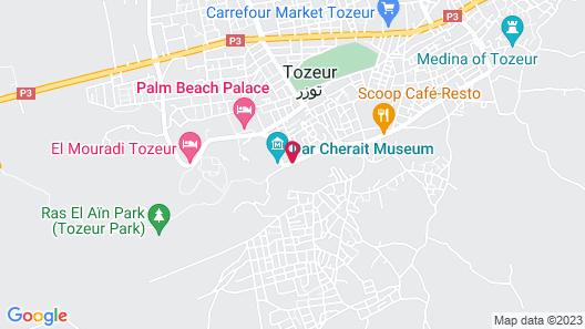La Palmeraie Hôtel & Spa Map