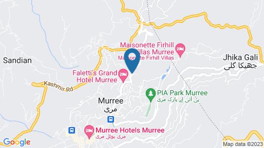 Days Inn Murree Map