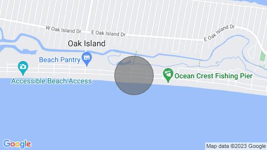 Oak Islands. Donovan's Reef Map