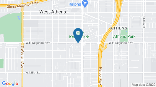 Hollywood Inn Suites Hotel Map