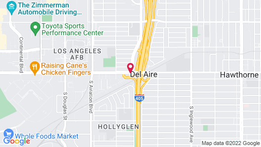 Ramada by Wyndham Hawthorne LAX / LA Stadium Map