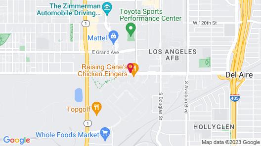 Residence Inn by Marriott Los Angeles LAX/El Segundo Map
