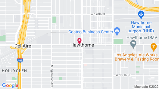 TownePlace Suites by Marriott Los Angeles LAX/Hawthorne Map