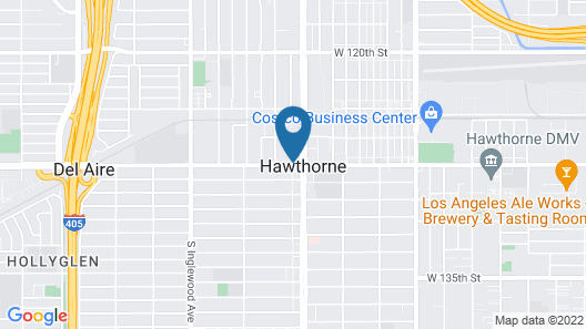 Courtyard by Marriott Los Angeles LAX/Hawthorne Map
