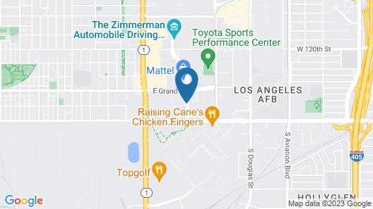 Cambria Hotel LAX Map