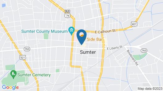 Hyatt Place Sumter / Downtown Map